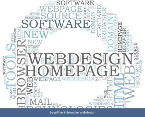 Begriffserklärung Webdesign
